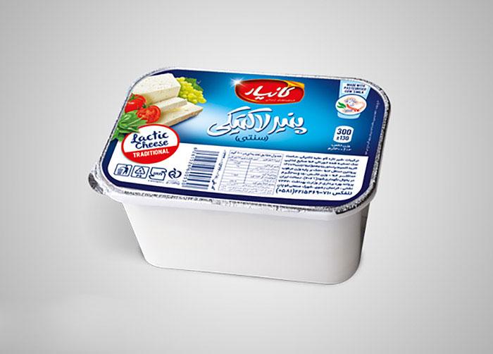 فویل پنیر لاکتیکی کانیار