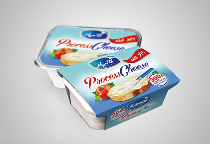 کاور و فویل پنیر پروسس کانیار