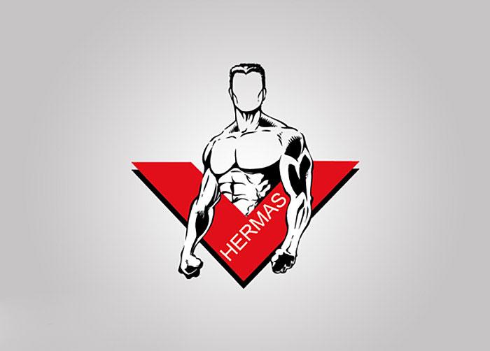 لوگوی باشگاه بدنسازی
