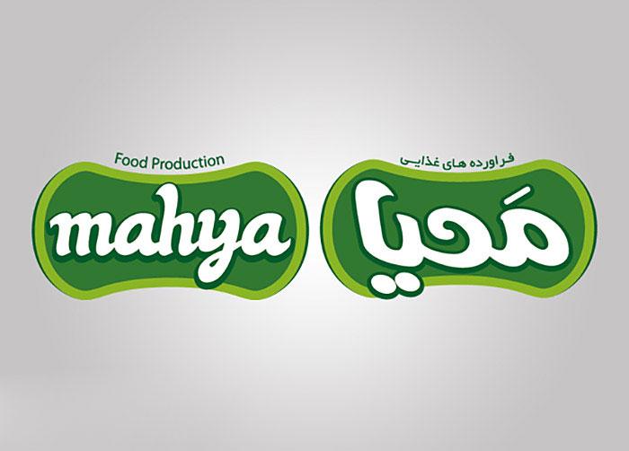 لوگوی محصولات غذایی محیا
