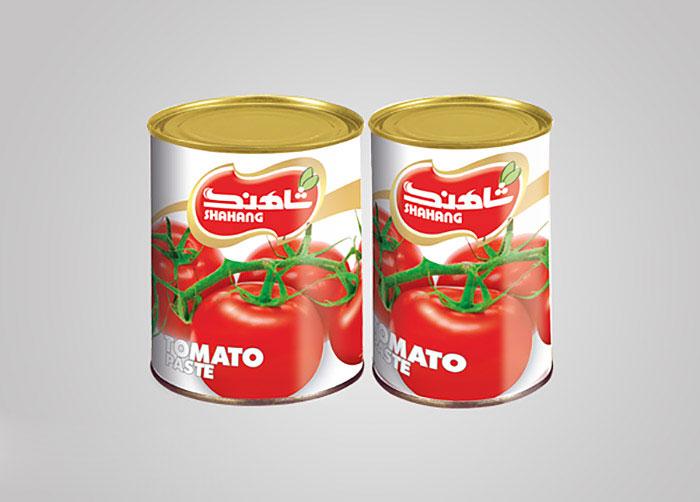 لیبل رب گوجه فرنگی شاهنگ