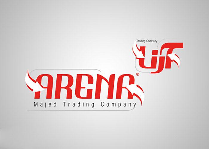 لوگوی شرکت بازرگانی آرنا