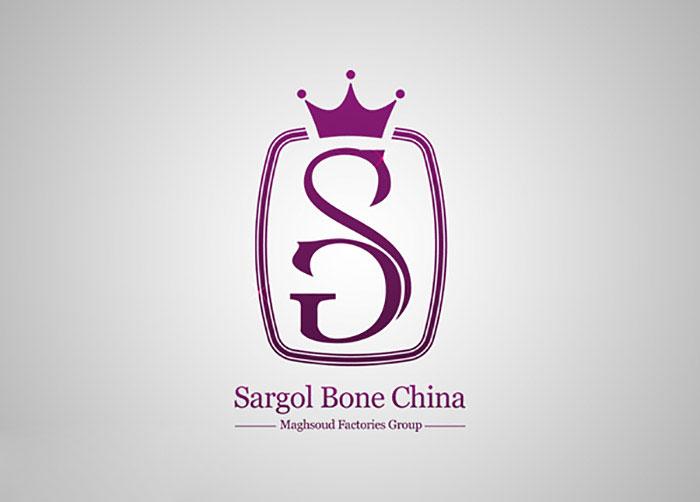لوگوی چینی استخوانی سارگل