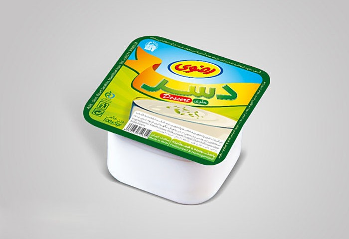 فویل پنیر خامه ای فراوده های لبنی رضوی
