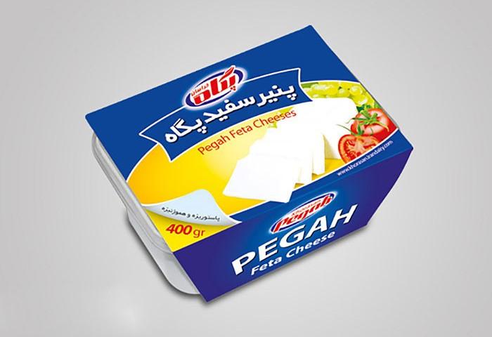 کاور پنیر سفید پگاه خراسان