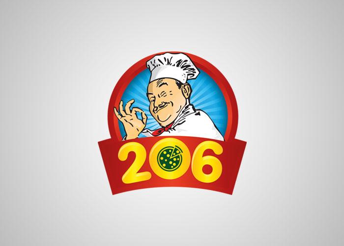 نشان تجاری پنیر پیتزا 206