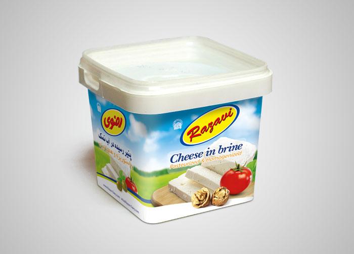 پنیر رسیده در آب نمک رضوی