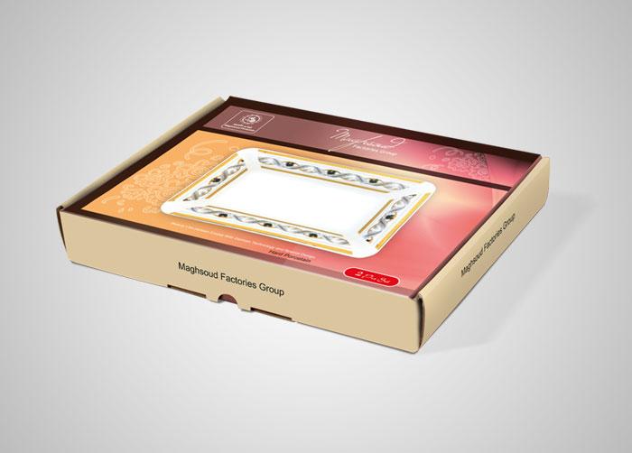 طراحی بسته بندی جعبه ست ماهی چینی مقصود
