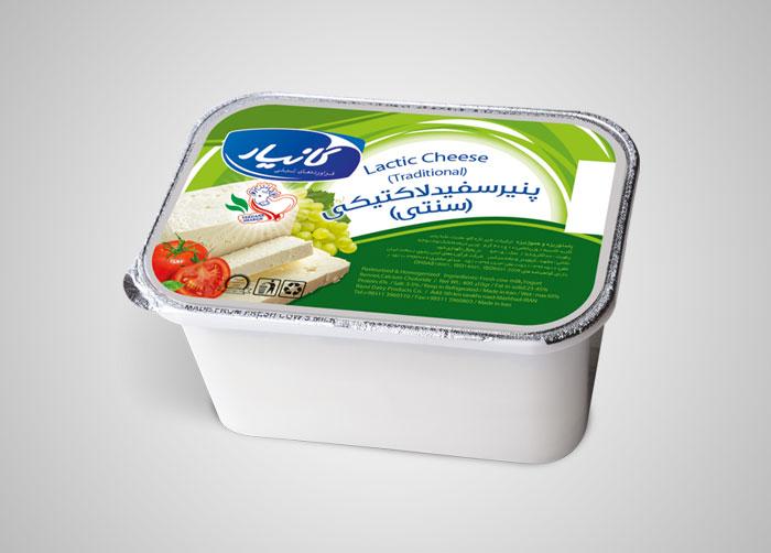 فویل پنیر سفید لاکتیکی کانیار