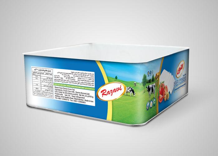 بسته بندی حلب 4کیلویی رضوی