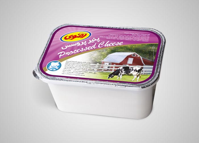 بسته بندی پنیر پروسس رضوی