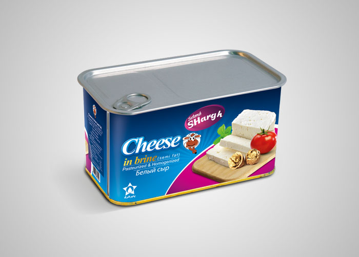 بسته بندی حلب پنیر ستاره شرق
