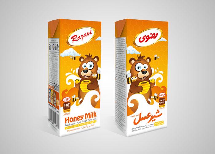 شیر عسل استریل رضوی