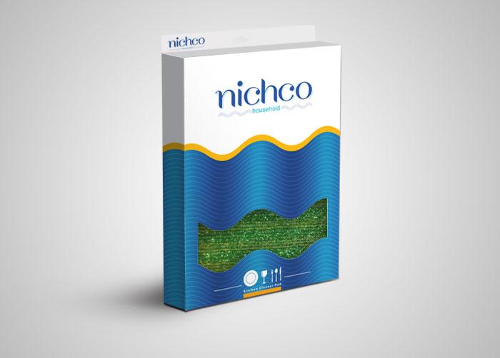 طراحی بسته بندی جعبه مقوایی اسکاچ نیچکو
