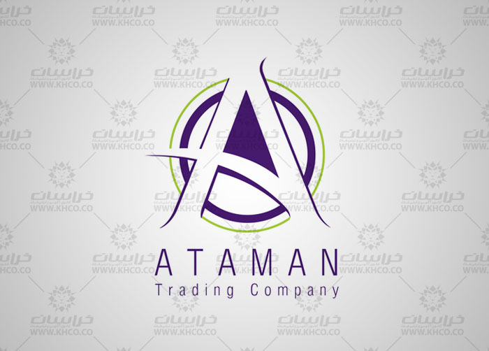 طراحی نشانه تجاری آتامن