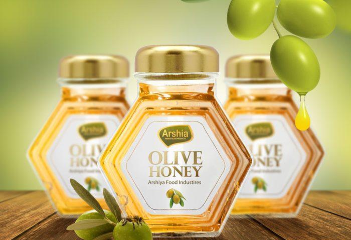 طراحی لیبل بسته بندی عسل آرشیا