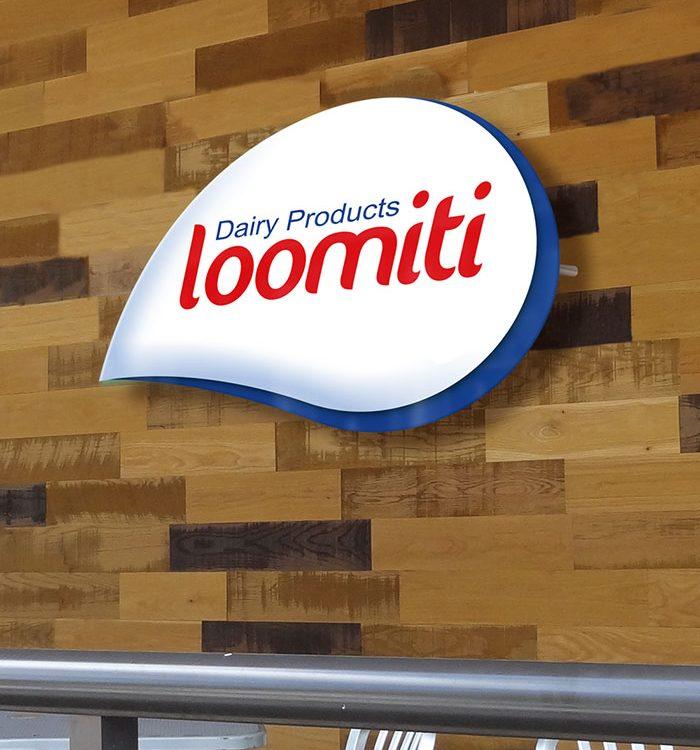 طراحی لوگوی فراورده های لبنی لومیتی