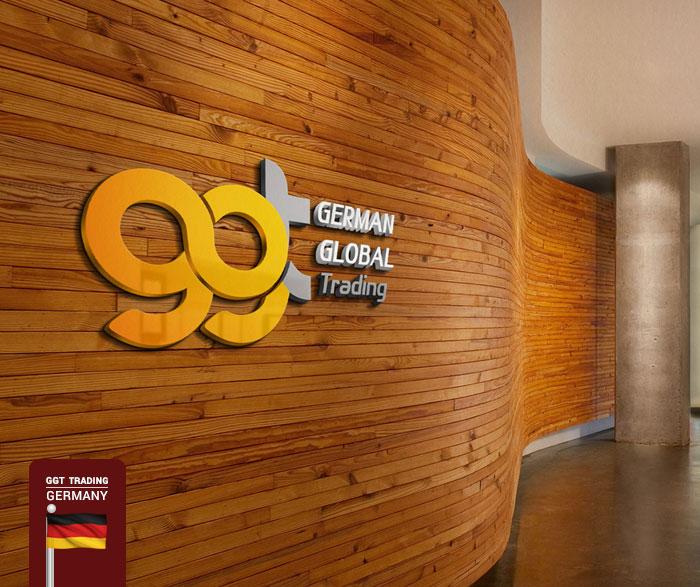 طراحی نشان تجاری شرکت German Global Trading