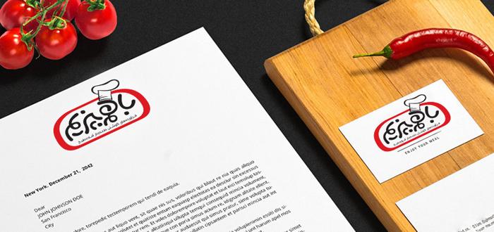 طراحی نشان تجاری باهم بپزیم