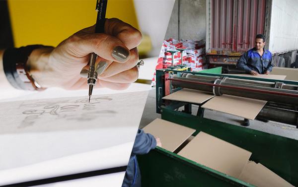 تعامل بین شرکت طراحی و صنایع بسته بندی