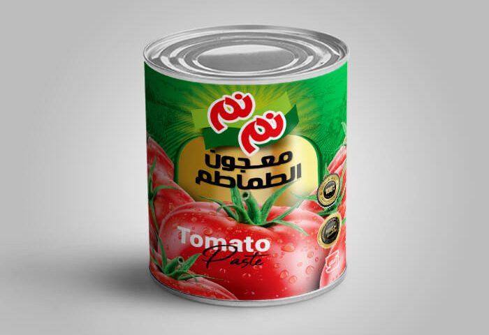 بسته بندی رب گوجه فرنگی نم نم