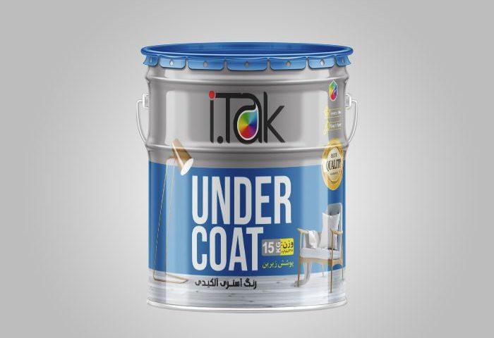 طراحی بسته بندی فلزی رنگ 15 کیلوگرمی آستری آلکیدی آی تک